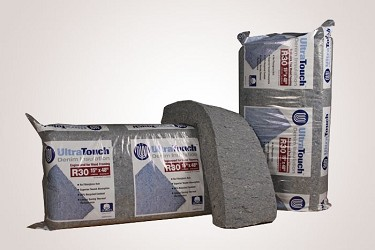 Ultratouch cotton insulation r30 for R30 insulation dimensions