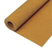 "Cork Underlayment: Thickness 6mm (1/4""), Roll 4 ft. x 50 ft. (200 sqft)"