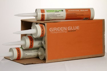 Acoustical Sealant :Case, 12 tubes