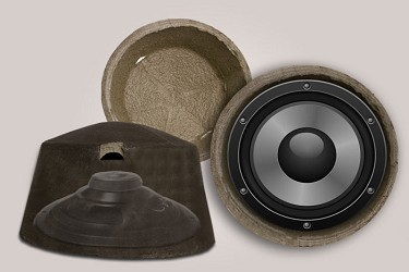 "Serenity Fire Rated Speaker Cover:13"" Diamater, 8"" Depth"