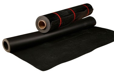 Soundproof Barrier:Weight 2 lb, Roll  4ft x 25 ft